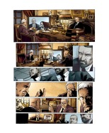 Groom Lake book 4, colors by Cyril Saint-Blancat, éditions Grand Angle, France